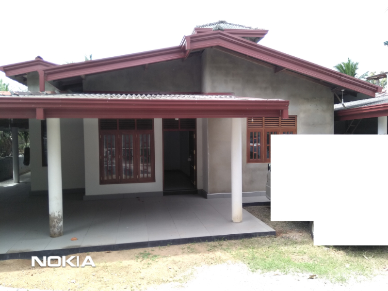 Newly constructed house in  Homagama hanwella 293 bus route